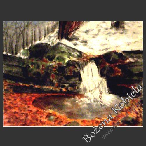 obraz / pastel 40x30cm / wymiar bez passepartout