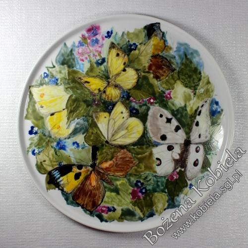 patera / talerz porcelanowy